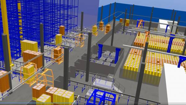 StöcklinWCS (Warehouse Management and Material Flow System)