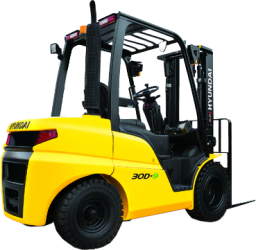 Hyundai diesel forklift trucks